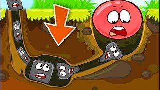 ОГО КАКОЙ БОСС !!! КРАСНЫЙ ШАР НАПАЛ НА ЗОМБИ Несносный Шарик Plants vs zombies Red Ball 4 Мультик