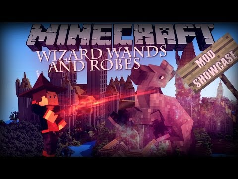 Minecraft harry potter in minecraft wizard wands and robes mod