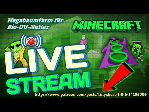 "★ ► Redled`s Retro Minecraft Technik Gerödel, ""Mega Bio-UU-Matter-Farm, Pt.1"" [Livestream] ◄ ★ ◄ ★"