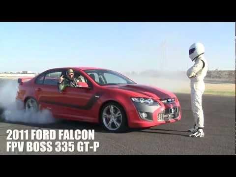 Ken Block and the Stig hooning at Top Gear Magazine Australia cover shoot [HD]
