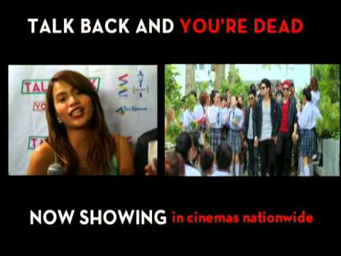 Talk Back and You're Dead (Di lang sila kinikilig)