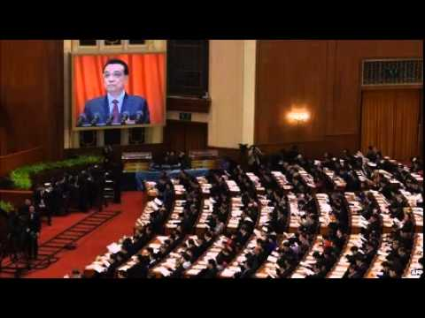 China's Premier Li Keqiang sets out economic goals