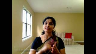 Jaati Adavu in Bharatanatyam (Part 1)
