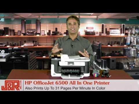HP Officejet 6500 All In One Printer - JR.com