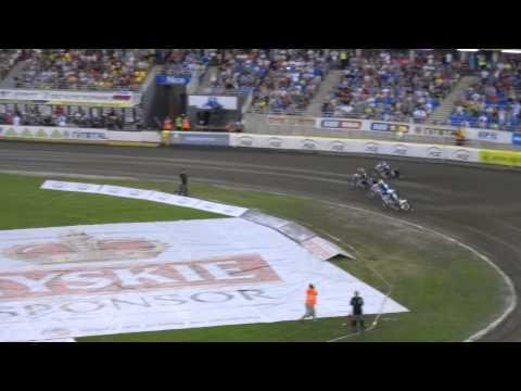 Crash N.Pedersen, P.Przedpełski, J.Doyle !!! - Żużel DMP Toruń, 09.08.2015