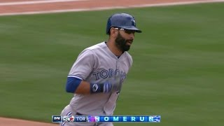 TOR@KC: Bautista launches his 13th homer of season