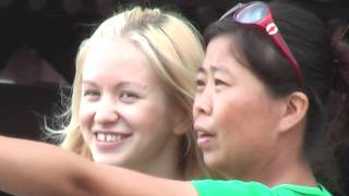 Datong Sightseeing | Blonde Girl in China | Great Adventures China #Datong #China #Asia