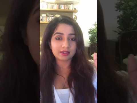 Shreya Ghoshal live on Facebook-1 || MTV Unplugged Season 6(2107)....