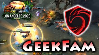 EPIC WOMBO COMBO ! GEEKFAM vs CIGNAL - ESL ONE LOS ANGELES 2020 MAJOR SEA QUALIFIERS
