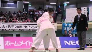 全日本学生柔道体重別選手権大会 1日目
