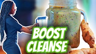 Daily Immune Boosting Flat Tummy Cleanse | ginger root #withme