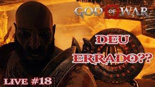 GOD OF WAR (2018) #18 - O KRATOS VOLTOU PARA MATAR MAIS MONSTRINHOS..(DEU ERRADO??) | LIVESTREAM #26