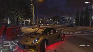 Grand Theft Auto V haciendo quilombo