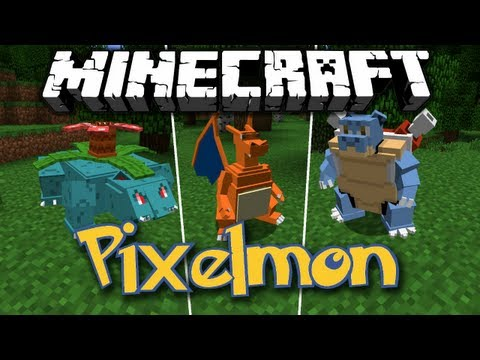 Minecraft [1.5.2] Pixelmon - Mod Review - [German|HD]