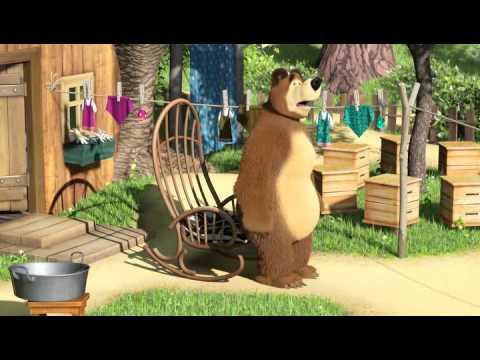 Маша и медведь 18.Большая стирка