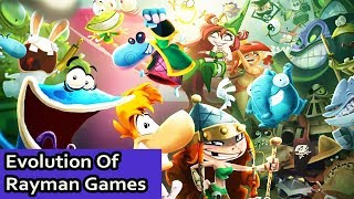 Rayman Compilation - 14 Games Between 1995-2015