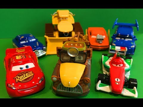 Мультики про Машинки Приключения Мэтра Тачки Машинки Игрушки для Детей