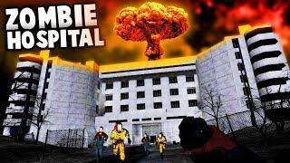 NUKING a Creepy HOSPITAL! (Gmod Zombie Survival - Garry's Mod Gameplay)
