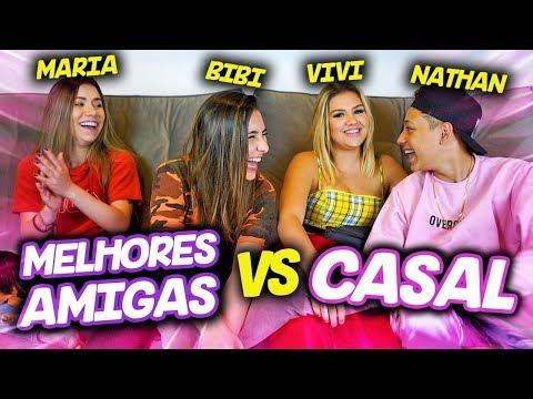 CASAL VS MELHORES AMIGAS! ft. Maria Venture, Nathan e Vivi