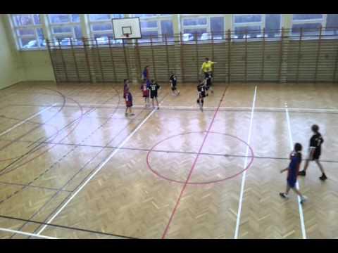 Piłka Ręczna Szkół Podstawowych 2011r, Ostatnie Minuty Meczu W Olkuszu