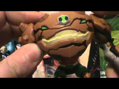 Review do Boneco Gravattack-Ben10 Omniverse