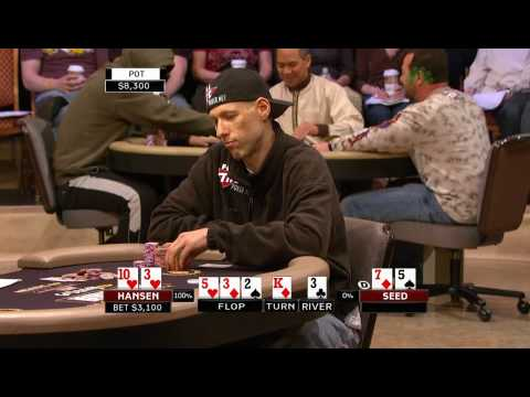 National Heads Up Poker Championship 2009 Episode 4 1/4