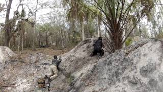 mag fed paintball - capture the hill - attack