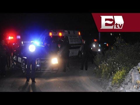 Ejecutan a tres jóvenes en Coacalco; familiares agreden a periodistas / Titulares Vianey Esquinca