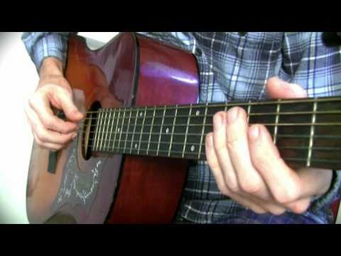 How To Play In the Ghetto by Elvis Presley (Guitar Lesson) Tutorial