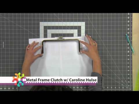 Make A Metal Frame Clutch