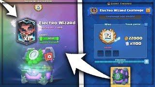 קיבלתי את הלג'נדרי אלקטרו ויזארד ?! electro wizard challenge  !!!