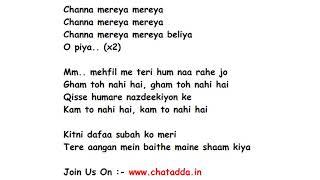download lagu Channa Mereya Full Song  Movie – Ae Dil gratis