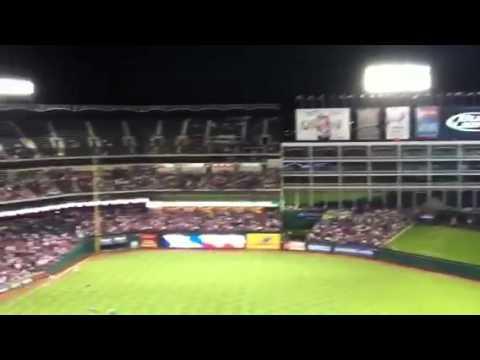 Rangers vs. Twins
