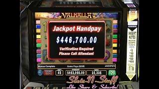 Massive Jackpot on Treasure of Valhalla HUGE!