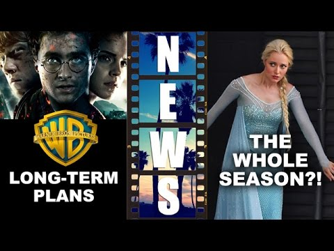 The Future Of The Harry Potter Universe, Once Upon A Time Season 4 All Frozen - Beyond The Trailer video
