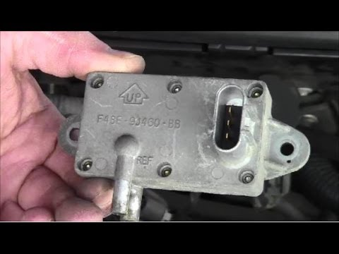 How to Remove Install Differential Pressure Feedback Exhaust Sensor