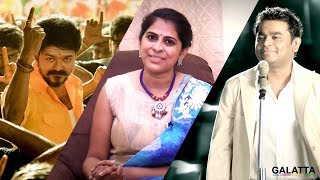 Thalapathy & AR Rahman, Can't Ask More | Singer Pooja | Mersal