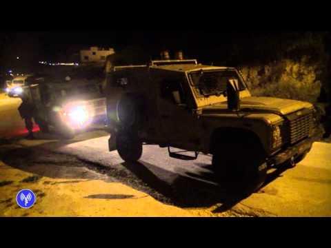 """מעצר פעילי חמאס באזור שכם ע""""י לוחמי גדוד 12 של חטיבת גולני"""
