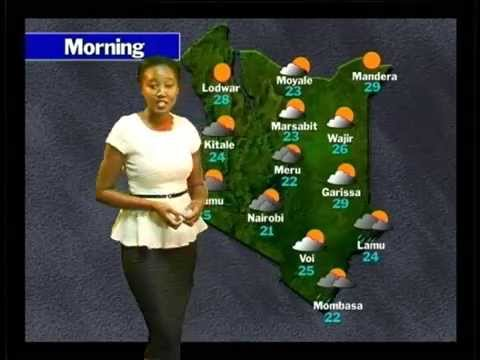 WMO Weather Report 2050 - Kenya Meteorological Department, Kenya Broadcasting Service