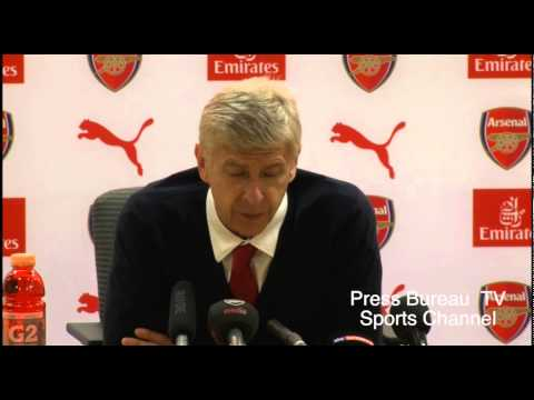 Arsene Wenger reaction Arsenal vs Crystal Palace