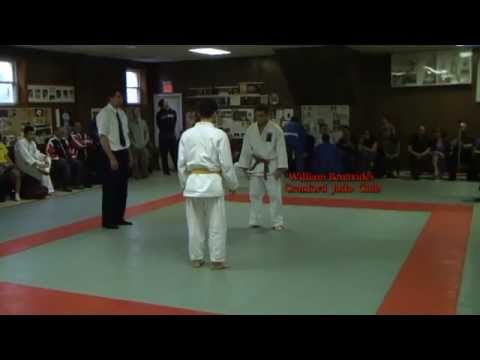 Cranford Invitational Judo Tournament - May 2013 - William Benavides - Match 1