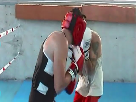 拳 Ivan Salcines Entrenamiento BOXEO profesional (RUDE-BOYS)