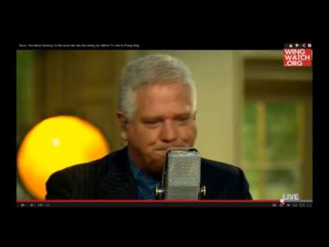 Glenn Beck Starts Crying! 'God Must Destroy Us'