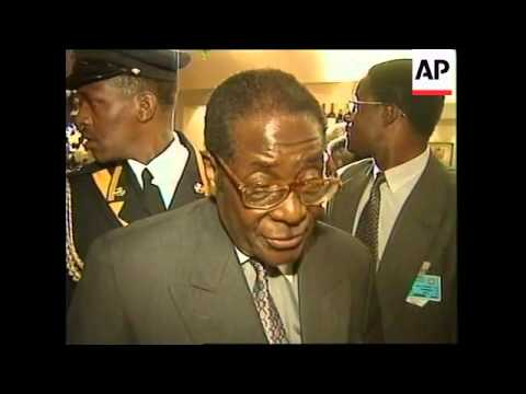 EU-AFRICA SUMMIT: MUGABE (2)