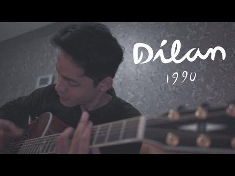 OST  Dilan 1990   Rindu Sendiri Live  Cover by Falah
