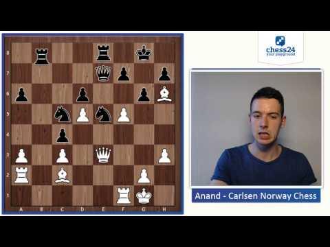 Anand - Carlsen Norway Chess 2015 | Game Analysis