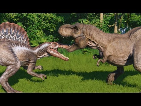 ALL DEATH DUELS AND KILLING ANIMATIONS! - Jurassic World Evolution HD