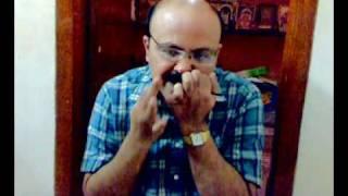 Morsing ( Jew's harp) solo by Dr.Vellore A.R.Srinivasan : Chatusrajati triputa tala