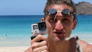 Found GoPro in the Ocean