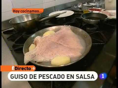 Receta de Guiso de pescado en salsa   ED